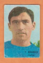 Italy Tarcisio Burgnich Inter Milan FH66